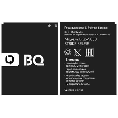 Аккумулятор для BQS-5050 Strike Selfie Li-polymer, 2500 mAh