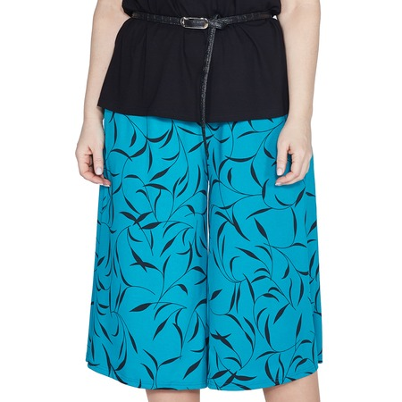 Купить Юбка-шорты Лауме-Лайн «Переменчивый образ». Цвет: голубой