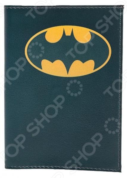 Обложка для паспорта кожаная Mitya Veselkov «Бэтмен» mitya veselkov mitya veselkov kafka 29