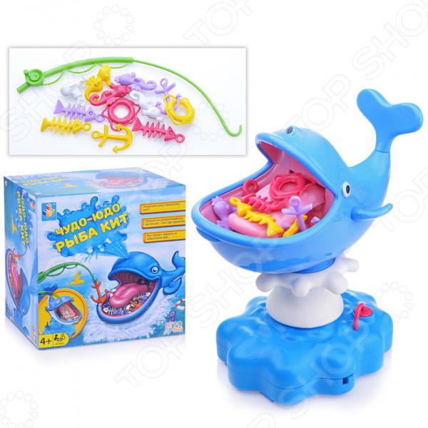 Игра настольная 1 Toy «ЧУДО-ЮДО рыба кит»
