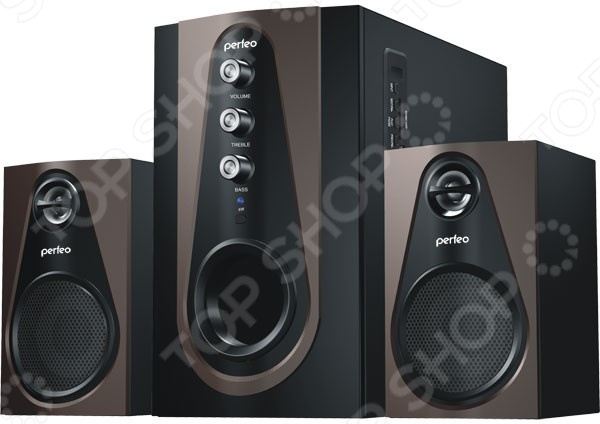 Комплект компьютерной акустики Perfeo Scenic PF-103-BT колонки perfeo scenic pf 103 bt black brown