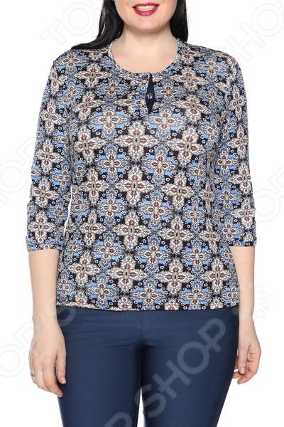Блуза Ивассорти «Звездная мечта». Цвет: синий