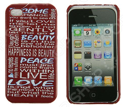 Чехол для iPhone 4 240142 чехол для iphone 4 бамбук