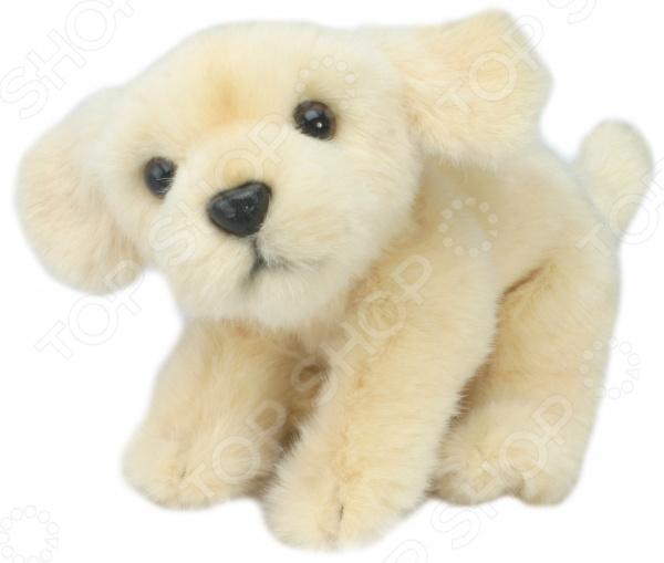 Мягкая игрушка Hansa «Бежевый лабрадор сидящий»