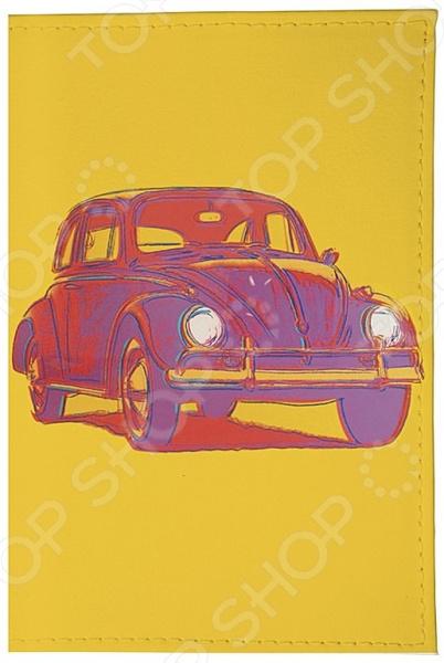 Визитница Mitya Veselkov «Автомобиль на желтом» londa velvet oil масло для волос вельвет 30 мл