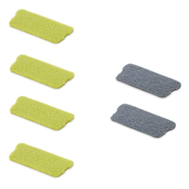 фото Комплект накладок для скребка швабры-скребка с распылителем Rovus «Плюс»