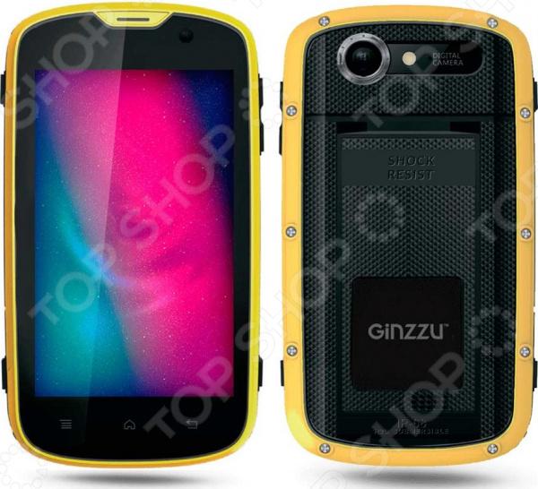 Смартфон защищенный Ginzzu RS71D защищенный смартфон ruggear rg 500