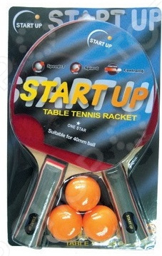 Набор для настольного тенниса Start Up BR-06/1 star набор для настольного тенниса start up bb02 1 star