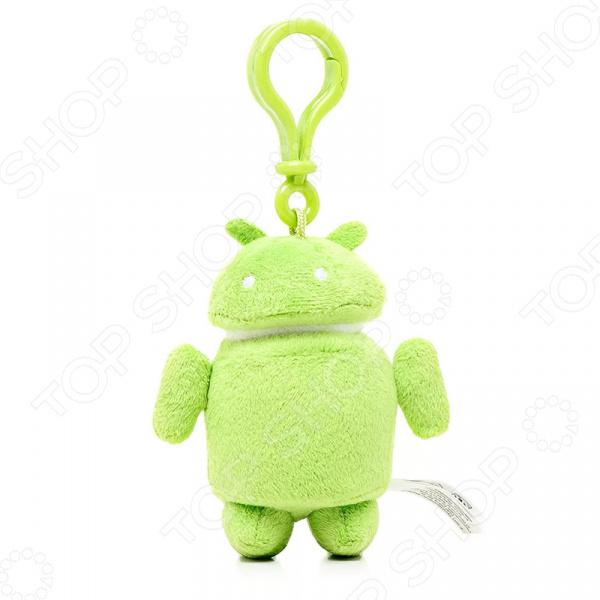 Игрушка-брелок мягкая Android Android мягкая игрушка медвеженок тэди