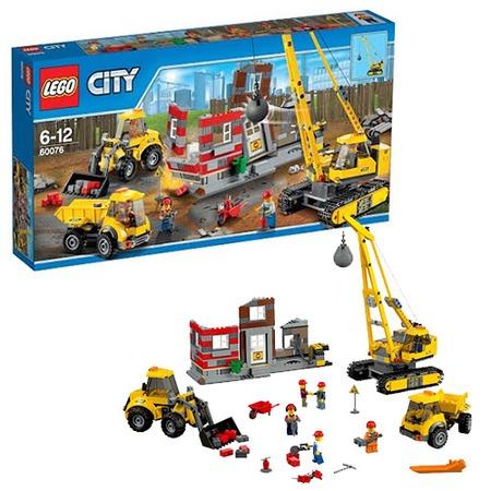 Купить Конструктор LEGO Снос старого здания