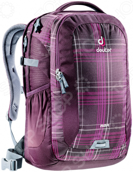 Рюкзак городской Deuter Daypacks Giga 31 aubergine check рюкзак deuter daypacks giga pro black