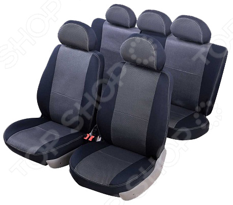 Набор чехлов для сидений Senator Dakkar Hyundai Solaris 2010-2017 слитный задний ряд поворотный механизм для сидений в украине