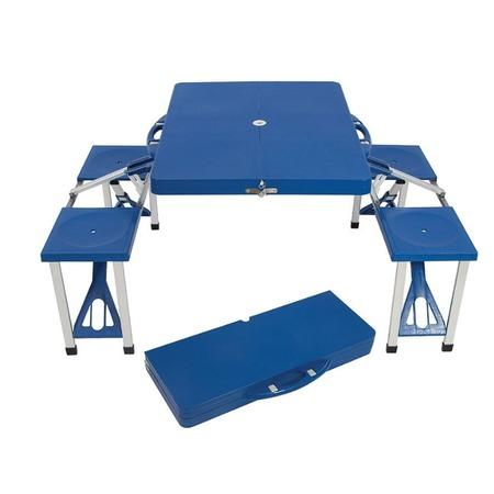 Купить Набор складной мебели: стол и скамейки Ecos TD-12