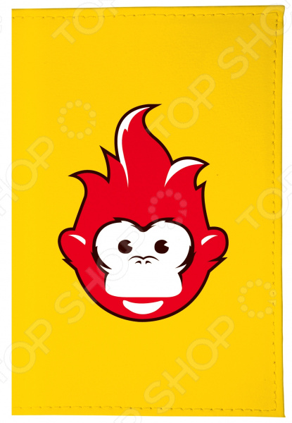 Визитница Mitya Veselkov «Огненная обезьяна» VIZAM визитницы mitya veselkov визитница олени на черном
