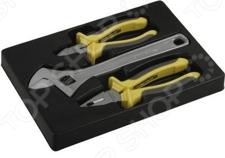 Набор губцевого инструмента Stayer Chromax 22703-H3 набор губцевого инструмента sparta 3 предмета