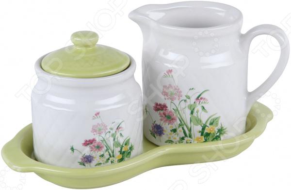 Сахарница и молочник Rosenberg RCE-095001-4