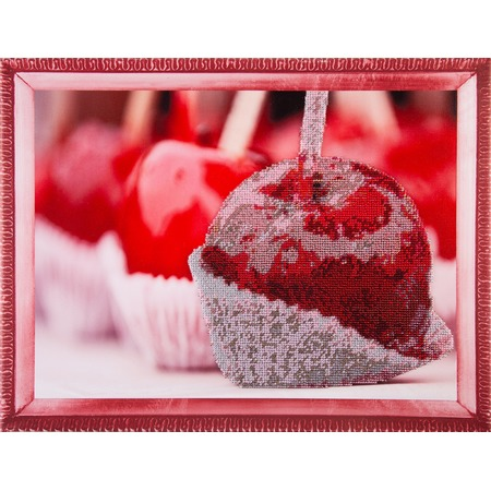 Купить Набор для вышивания бисером Color Kit «Яблоко в карамели»