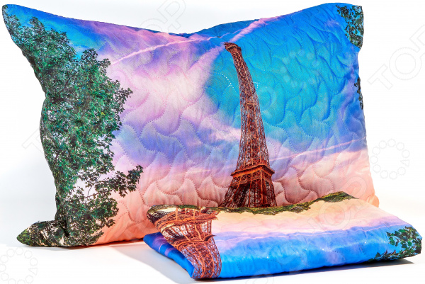 Наволочка декоративная Сирень «Из Парижского окна»