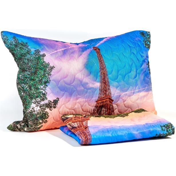 фото Наволочка декоративная Сирень «Из Парижского окна»
