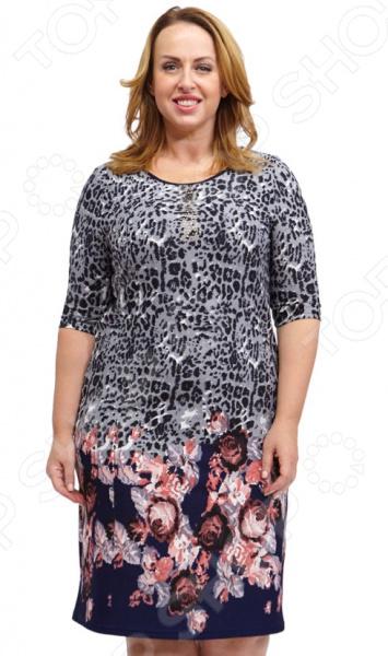 Платье Лауме-стиль «Роскошная красавица». Цвет: синий