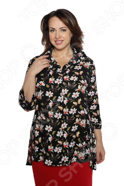Рубашка Pretty Woman «Край чудес». Цвет: черный рубашка pretty woman сладкое счастье цвет бежевый
