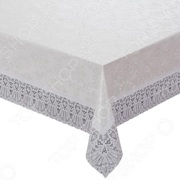 Скатерть прямоугольная Meiwa Damask сервировка стола