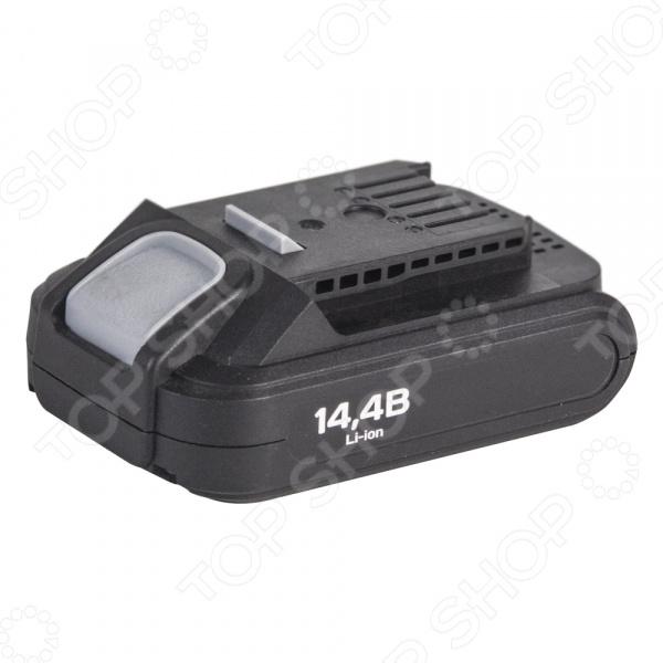 Батарея аккумуляторная для шуруповерта СТАВР ДА-14,4/2ЛК аккумуляторные батареи для шуруповерта