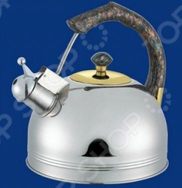 где купить Чайник со свистком Bohmann BHL-655 MRB. В ассортименте дешево