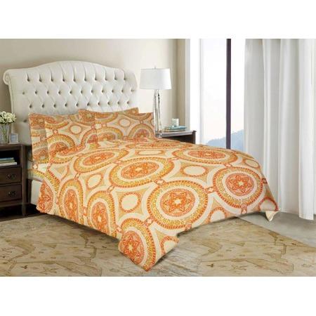 Комплект постельного белья «Оранжевое настроение». Евро