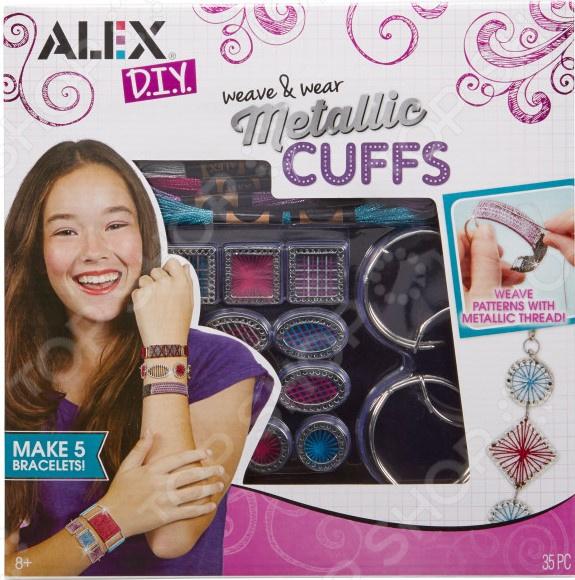 Набор для создания браслетов Alex «Сделай сам. Металлические браслеты» наборы для создания украшений alex большой набор для плетения браслетов друзья