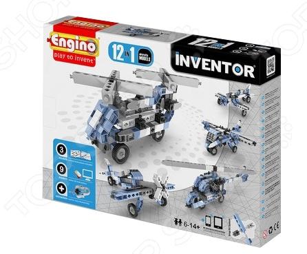 Конструктор игрушечный Engino Pico Builds / INVENTOR PB33 «Самолеты» engino конструктор inventor самолеты 4 модели