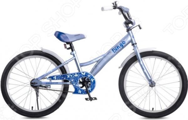 """Велосипед детский Navigator Bingo 20"""" с цветами"""