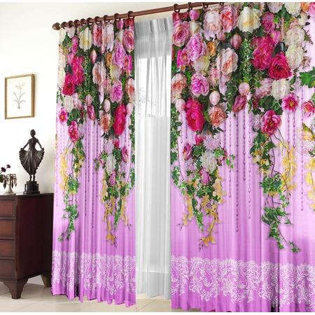 Купить Комплект штор «Цветочная лоза»
