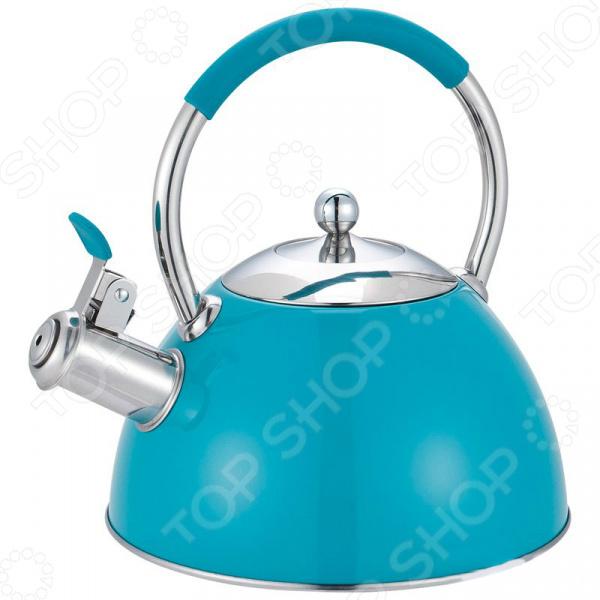 Чайник со свистком Mallony Musica