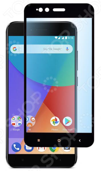 Стекло защитное skinBOX Full Screen для Xiaomi Mi A1/Mi 5X аксессуар защитное стекло xiaomi mi 5 monsterskin 2d colorful white