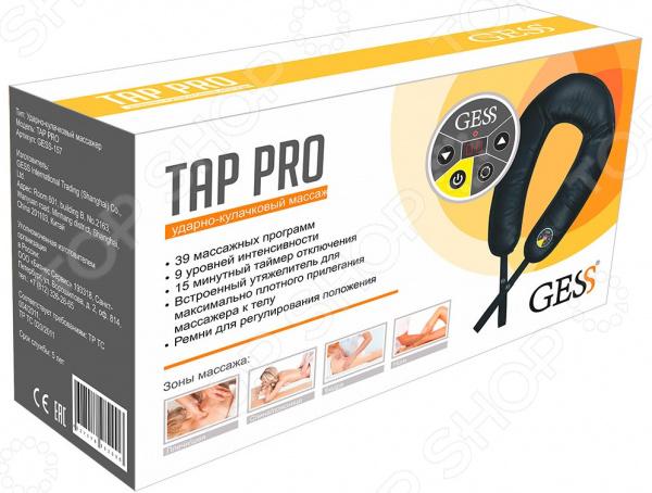 Массажер ударно-кулачковый Gess Tap Pro 4