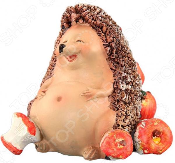 Фигурка декоративная Elan Gallery «Ежик с яблоками»