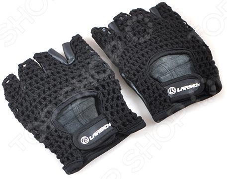 Перчатки для тяжелой атлетики и фитнесса Larsen NT503 перчатки для тяжелой атлетики и фитнесса larsen nt506