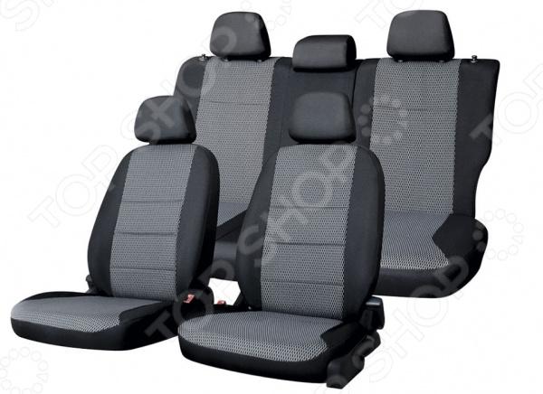 Набор чехлов для сидений Defly Hyundai Solaris / KIA Rio, 2017
