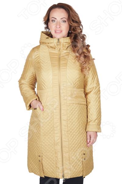 Пальто D`imma «Мирабель». Цвет: горчичный