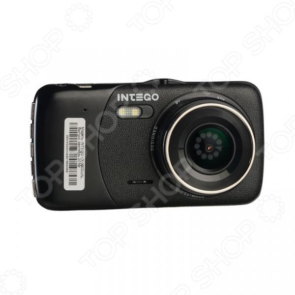 Видеорегистратор Intego VX-390DUAL Full HD/VGA intego vx 235hd