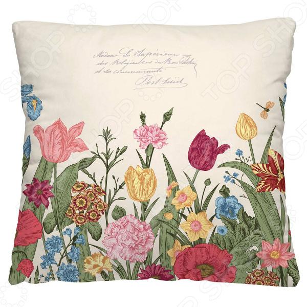 Подушка декоративная Волшебная ночь «Цветочная клумба»
