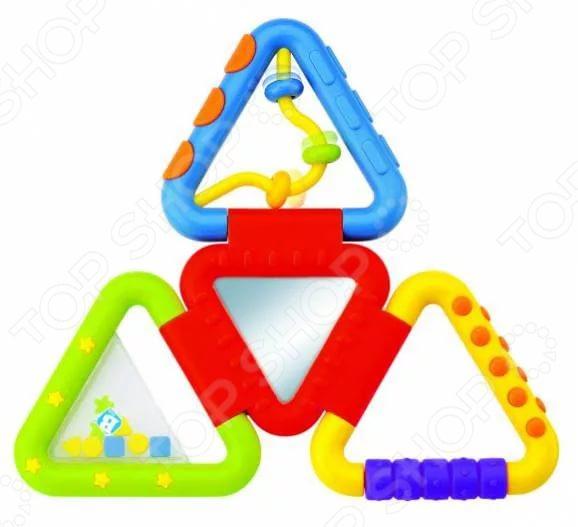 Игрушка развивающая для малыша B kids «Веселые треугольнички» игрушка черепашка b kids