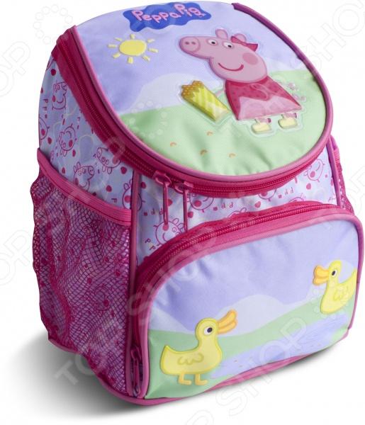 Рюкзак дошкольный Peppa Pig увеличенный «Свинка Пеппа и утка»