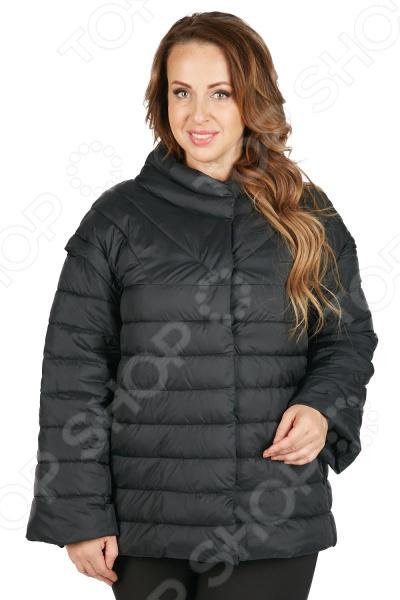 Куртка Мишель Капрони «Листопад». Цвет: черный мишель смарт замужем за врагом