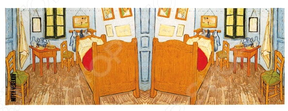 Обложка для студенческого билета Mitya Veselkov «Ван Гог - Спальня в Арле» визитница mitya veselkov ван гог спальня в арле
