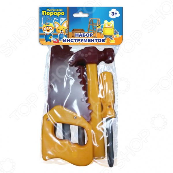 Набор инструментов игровой 1 Toy с хедером «Пингвиненок Пороро» Т58823 Набор инструментов игровой 1 Toy с хедером «Пингвиненок Пороро» Т58823 /