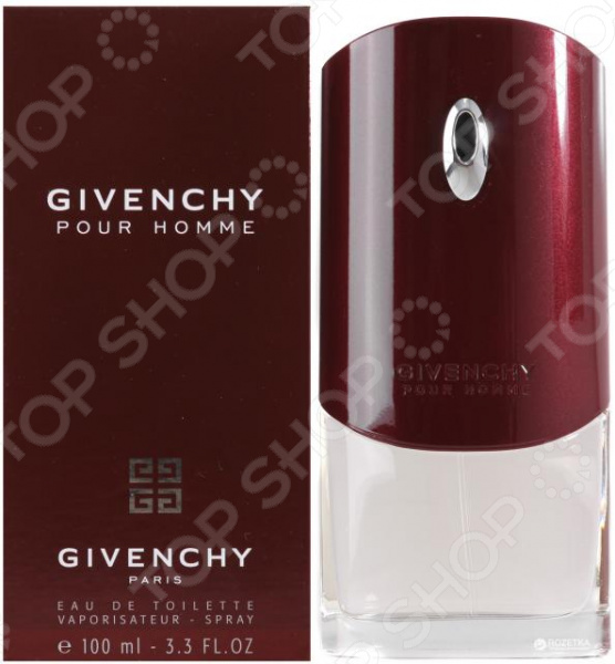 Туалетная вода для мужчин Givenchy Pour Homme givenchy givenchy мужская туалетная вода play pour homme p055236 100 мл
