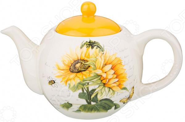 Чайник заварочный Agness «Подсолнухи» 358-1028
