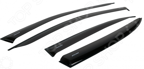 Дефлекторы окон неломающиеся накладные Azard Voron Glass LADA ВАЗ 2105 / ВАЗ 2107 комплект сцепления на ваз 2107